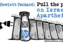 Tell Hewlett Packard: Pull the plug on Israeli Apartheid