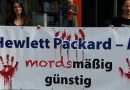 Berlin: Sa 26.08. Protestaktion gegen Hewlett Packard (HP)